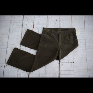 MOTHER Pants - Mother NWT size 31 Taupe outsider crop corduroy